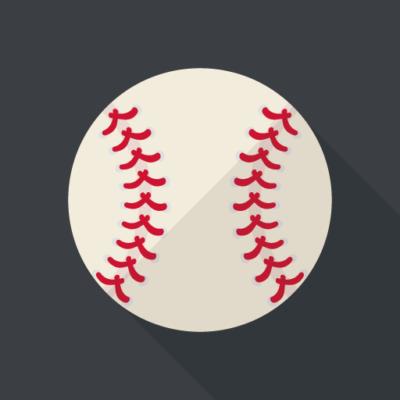 バックネット裏から見る野球